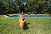 Girl Air-matt Pool