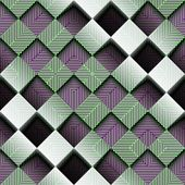 Abstract geometric pattern with the matrix and relief.