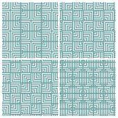 square illusion lines continual pattern