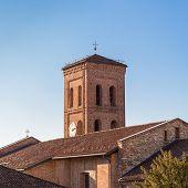 Bell tower of catholic church