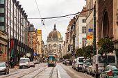 Royal Street In Brussels