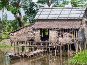 Farmer's House In Myanmar