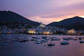 Cadaques Sunset. Romanticism In The Mediterranean Sea