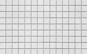 White square mosaic tiles