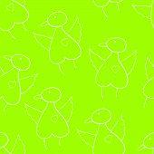 Pattern With Bird