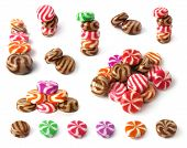 Set Of Colorfull Sweets