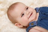 Smiling Infant Baby