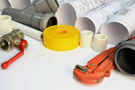 image of gas-pipes  - Drawing rolls - JPG