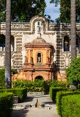 pic of royal palace  - Spain Andalusia Region - JPG