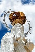 picture of mary  - Virgin Mary Statue in Concepcion Peru - JPG