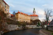 pic of bohemia  - Castle of Cesky Krumlov in South Bohemia Czech Republic - JPG