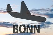 picture of bonnes  - Airplane icon  - JPG