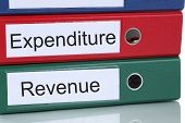 pic of profit  - Revenue and expenditure loss profit account finances in company business concept - JPG