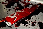 pic of bloody  - Illustration photo  - JPG