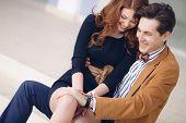 image of intimacy  - Happy couple in love - JPG
