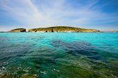 pic of gozo  - blue lagoon Comino island Malta Gozo - JPG