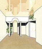 pic of suspenders  - Room with columns - JPG