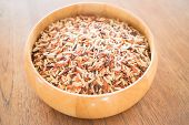 image of whole-grain  - Multi whole grain of organic jasmine rice - JPG