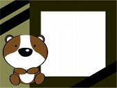 stock photo of hamster  - cute baby hamster picture frame in vector format very easy toedit - JPG