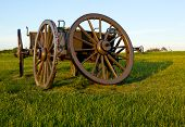 Cart On Manassas Battlefield