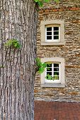 Antique Restored Half-timbered Farmhouse In North Rhine-westphalia, Germany