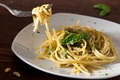 Linguine with Pesto