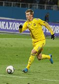 Andriy Yarmolenko Of Ukraine