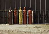 Industrial Gas Bottles