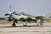 Avión de combate británico de la segunda guerra mundial