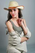 attractive rural girl