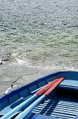 Blue Rowing-Boat