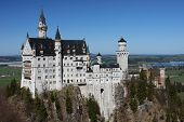 Palace Neuschwanstein, Bavaria, Germany