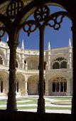 Monastery Cloister Arches
