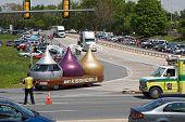 Make-A-Wish truck convoy fundraiser
