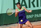 Ekaterina Bychkova (rus) At Roland Garros 2011