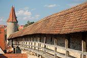 Muralla de la ciudad de Rothenburg Ob Der Tauber