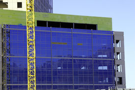 picture of high-rise  - construction crane - JPG