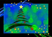 christmas greeting card design 1