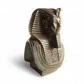 Estatua de faraón Tutankhamon