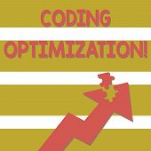 Handwriting Text Coding Optimization. Concept Meaning Method Of Code Modification To Improve Code Qu poster