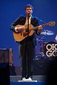 Orlando, Florida - January 15: Damian Kulash Lead Vocals And Guitar Player Of Rock Band Ok Go Perfor