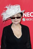 LOS ANGELES - FEB 10:  Yoko Ono arrives at the 2012 MusiCares Gala honoring Paul McCartney at LA Con