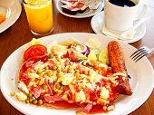 Huevos Motulenos Plate