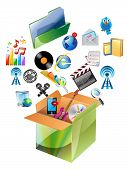 Multimedia Carton