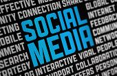 picture of  media  - Digital poster on a social media theme - JPG