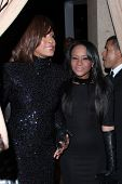 LOS ANGELES - FEB 12:  Whitney Houston; Bobbi Kristina Brown at the 2011 Pre-GRAMMY Gala And Salute