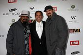 LOS ANGELES, CA - FEB 13: Antonio R. Villaraigosa  & Cypress Hill at the EMI GRAMMY After-Party at M