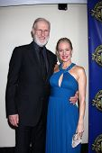 LOS ANGELES - FEB 12:  James Cromwell, Penelope Ann Miller at the Press Area of the 2012 ACS Awards