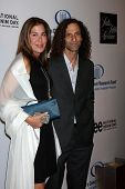 LOS ANGELES, CA - JAN 27: Kenny G & wife at the