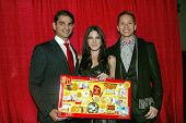 UNIVERSAL CITY - DEC. 4: Ashley Arpel, Ray Chavez & Jeffrey Kurr arrive at Mike Arnoldi's birthday c